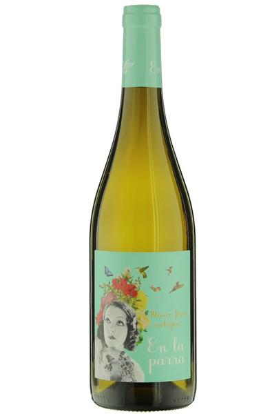 White Wine Bottle of Bodegas Nodus En La Parra Blanco from Spain