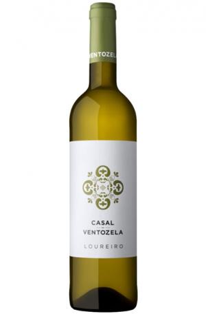 White Wine Bottle of Casal de Ventozela Loureiro Vinho Verde from Portugal