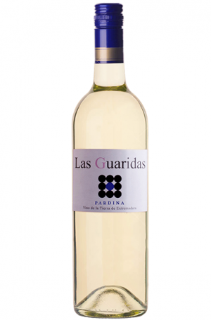 White Wine Bottle of Guaridas Pardina from Spain