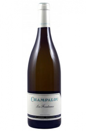 White Wine Bottle of Champalou Les Fondreaux from France