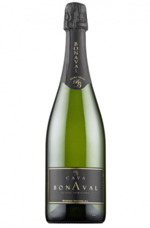 Sparkling Wine Bottle of Cava Bonaval from Spain