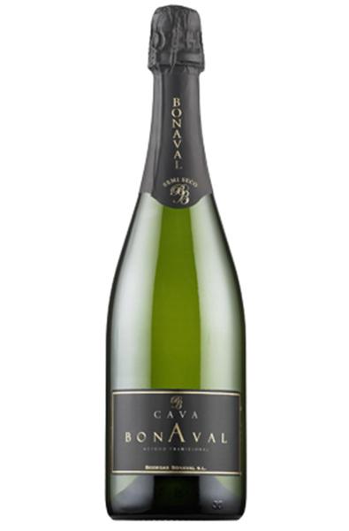 Sparkling Wine Bottle of Cava Bonaval from Spain