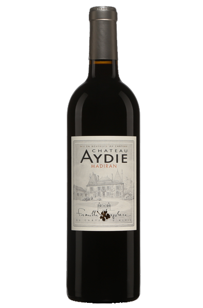 Red Wine Bottle of Chateau d'Aydie Madiran from France