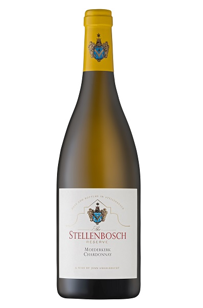 White Wine Bottle of Rust En Vrede Stellenbosch Chardonnay from South Africa