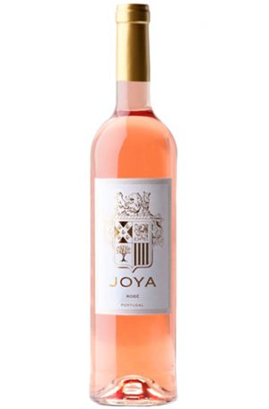 Rose Wine Bottle of Casa Santos Lima Joya Rose from Portugal