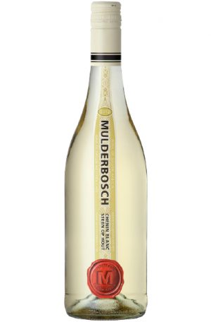 White Wine Bottle of Mulderbosch Chenin Blanc Steen Op Hout from South Africa