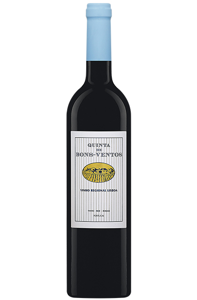 Red Wine Bottle of Casa Santos Lima Bons Ventos from Portugal