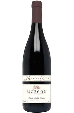 Red Wine Bottle of Calot Morgon Vieilles Vignes from France