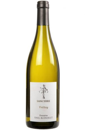 White Wine Bottle of Tinel Blondelet Sancerre Fretoy from France