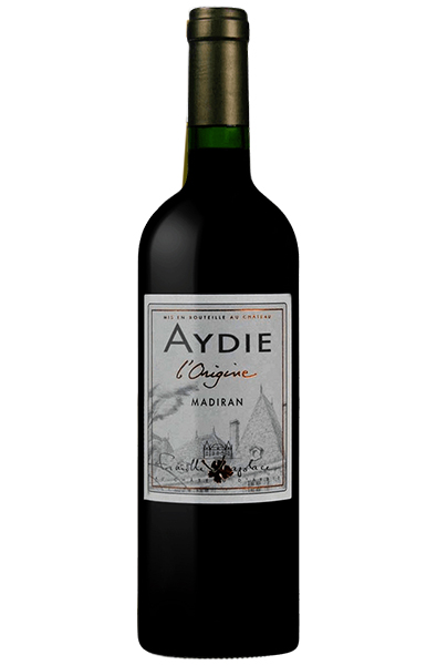 Red Wine Bottle of Aydie Madiran L'origine from France