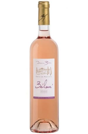 Rose Wine Bottle of Domaine Bunan Cotes de Provence Rose from France