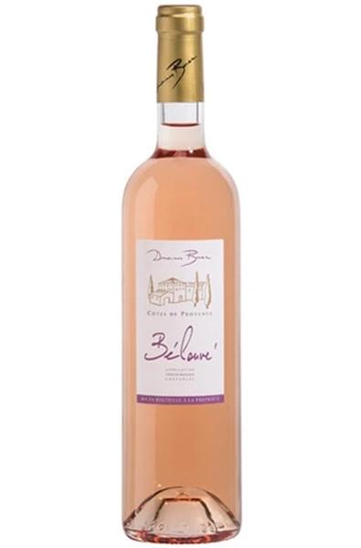 Rose Wine Bottle of Domaine Bunan Cotes de Provence Rose from France