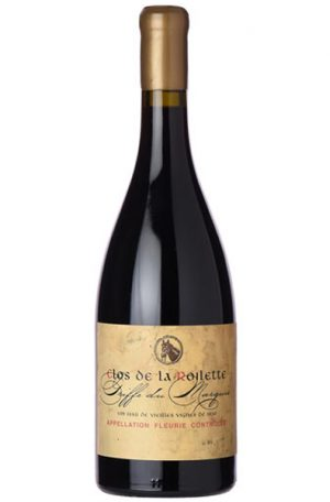 Red Wine Bottle of Clos de la Roilette Griffe du Marquis from France