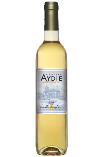 White Wine Bottle of d'Aydie Pacherenc du Vic Bihl from France