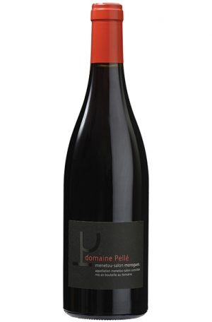 Red Wine Bottle of Domaine Pelle Morogues Menetou-Salon from France