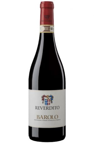 Red Wine Bottle of Reverdito Barolo from Italy