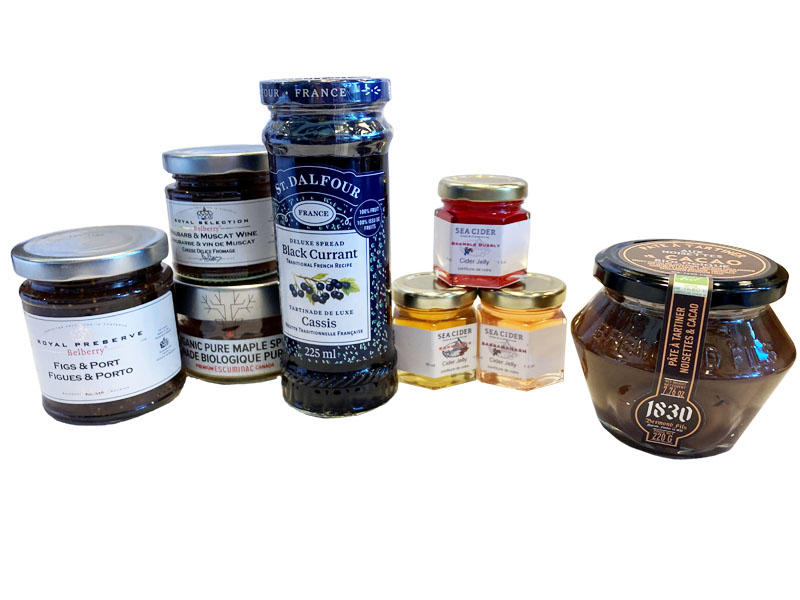 Sweet Preserves and Spreads - 800x600